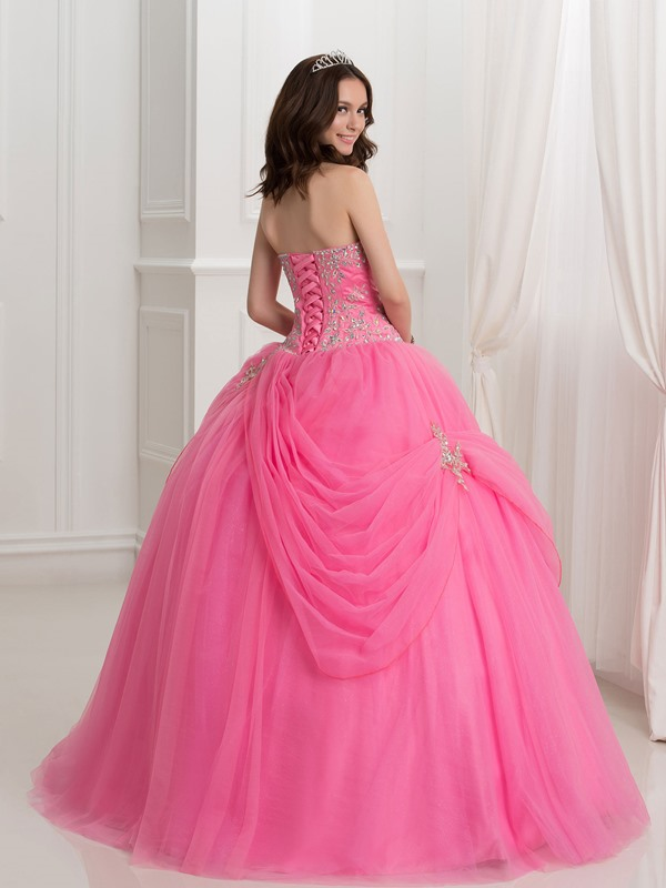 Sweetheart Beading Embroidery Quinceanera Dress