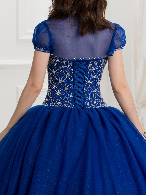 Sweetheart Beading Quinceanera Dress With Jacket