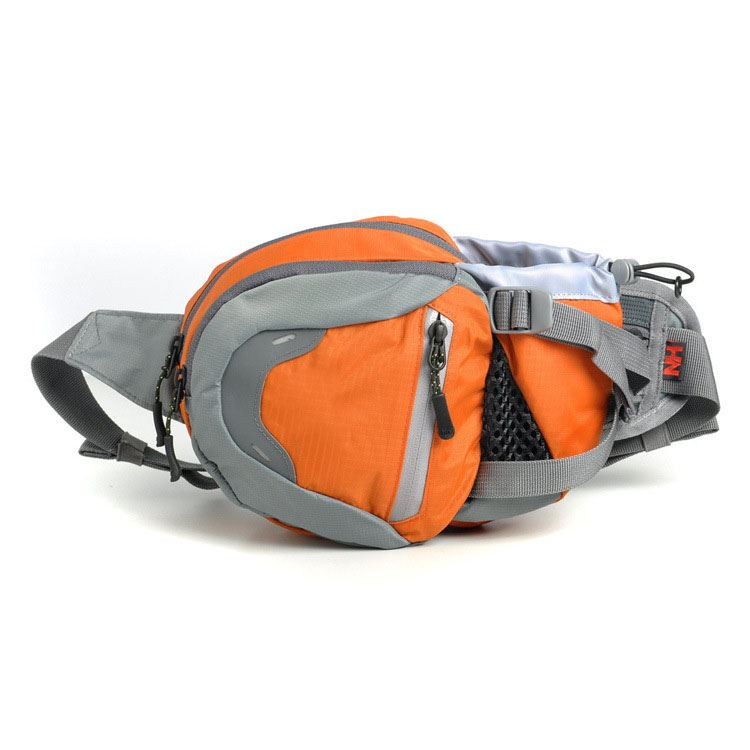 Zip Multi-function Waist Pack with Letter