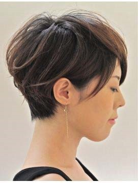 Short Straight Hairstyle Human Hair Capless Wig(Free Shipping)
