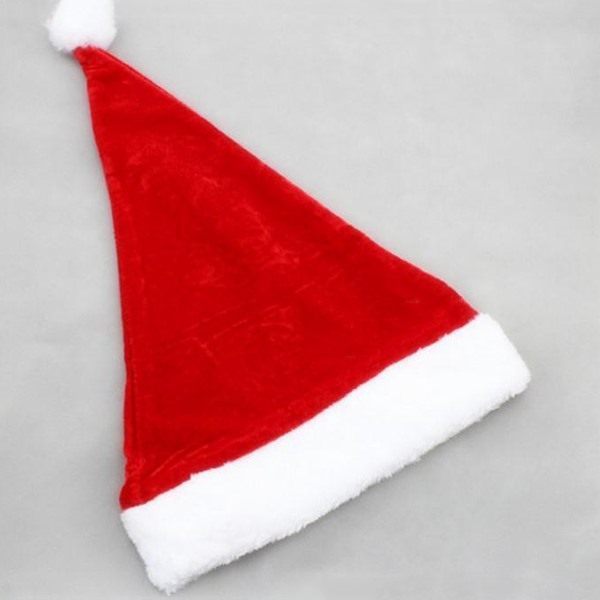 Gorgeous Short Plush Christmas Hat
