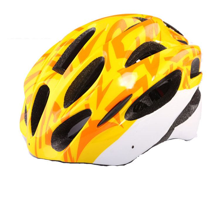 15 Vents Single-Piece In-Mold Shell Helmet