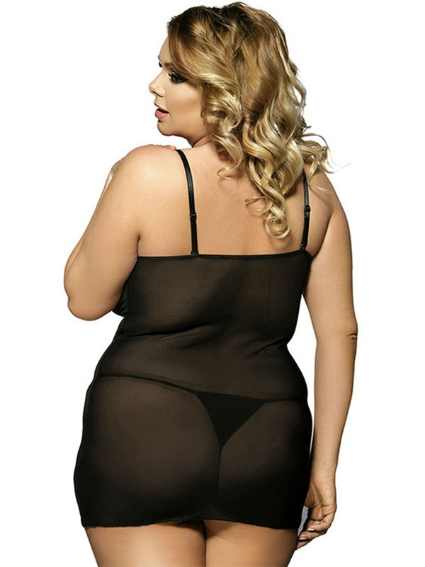 See-through Lace Women Plus Size Intimates