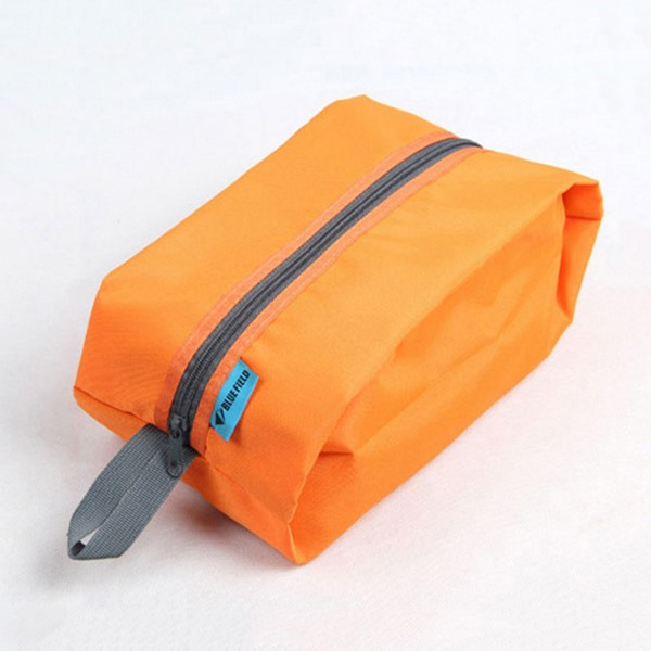 Light Zipper Pure Color Storage Bag