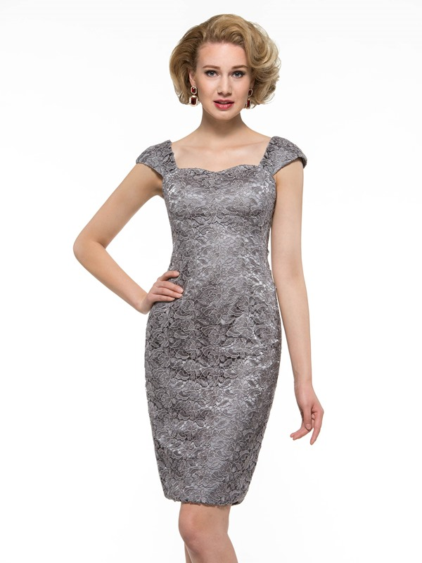 Sexy Sweetheart Lace Sheath Mother of the Bride Dress with Bolero Jacket
