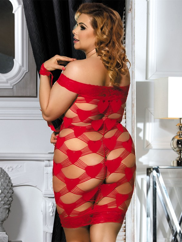 Lace Hollow Babydoll for Women