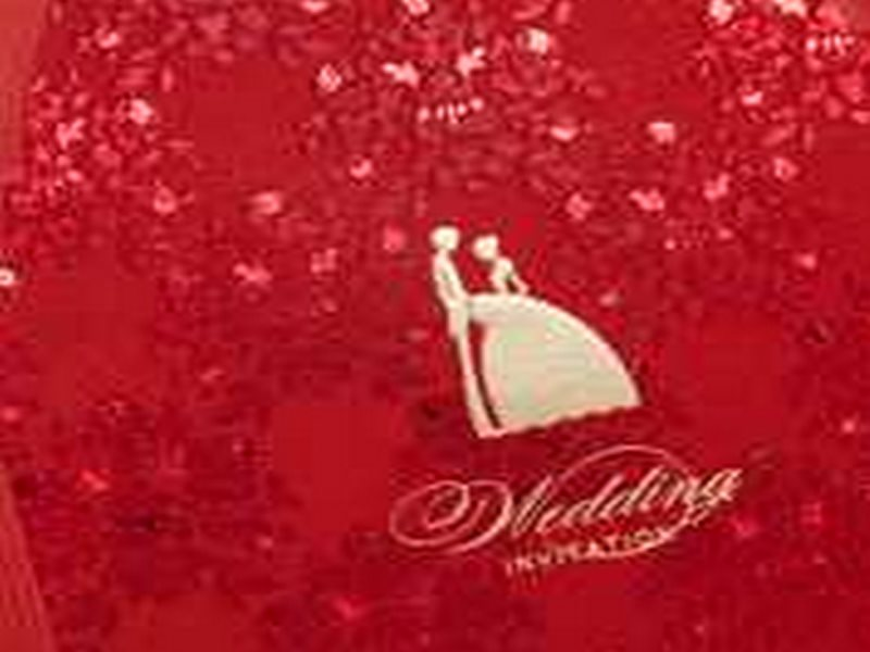 Cheap Red Wedding Invitations for Sale (20 Pieces One Set)