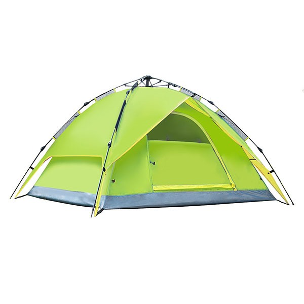 Rainproof 3-4 Person Camping Pop-Up Tent