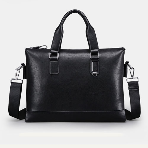 Solid Large Capacity Men Shouler Bag