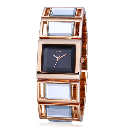 Elegant Folding Clasp Women's Watch