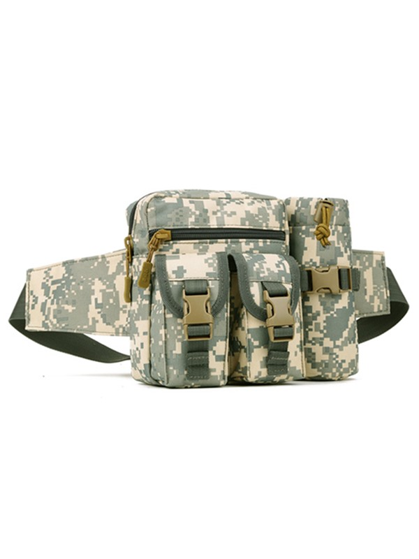 Durable Zipper Multi-function Waist Pack