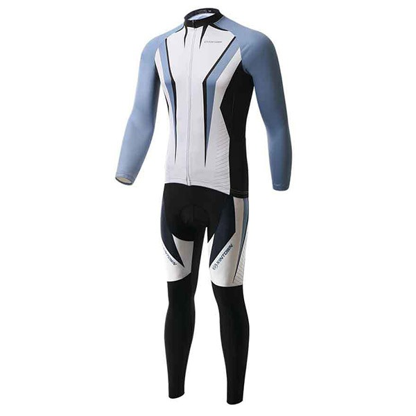 Breathable Arrow-Pattern Cycling Outfit