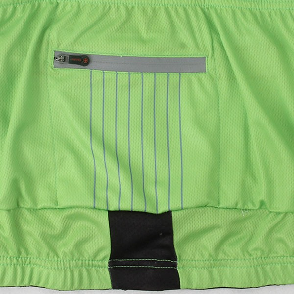 Polyester Back Pockets Cycle Jersey And Bib Shorts