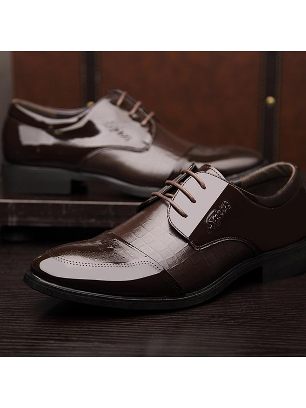 Gorgeous Round Toe Lace-Up Dress Shoes