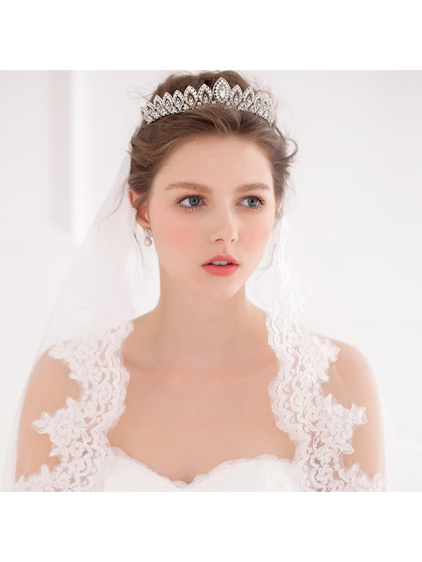 Cheap Rhinestone Wedding Crown Wedding Tiara