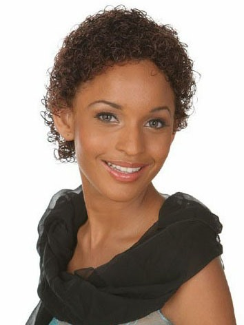 Kinky Curly Short Capless Synthetic Hair Wig 6 Inches(Free Shipping)