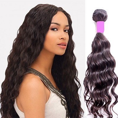 Natural Wave Human Hair Weave/Weft 1 PC(Free Shipping)