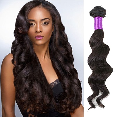 Hot Sale Loose Wave Human Hair Weave/Weft 1PC(Free Shipping)