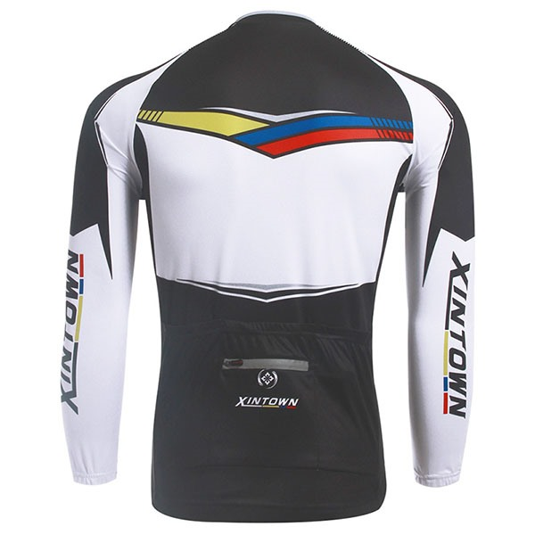 Winter Fleece Long Sleeve Men's Sports Jersey