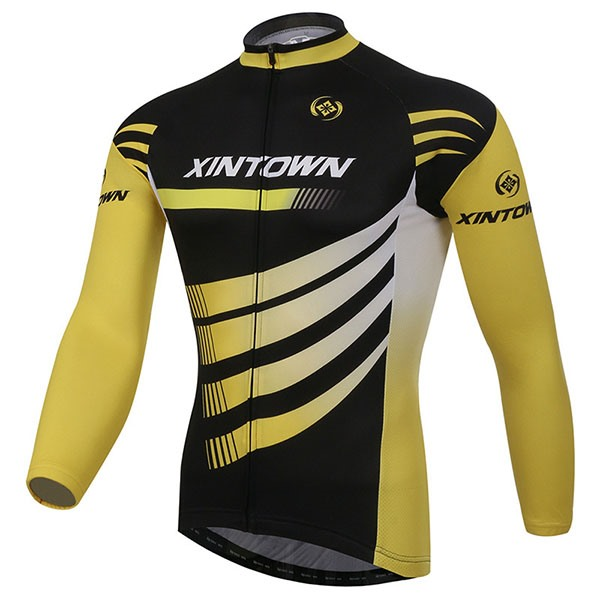 Long-Sleeve Fleece Sportswear Cycle Jersey