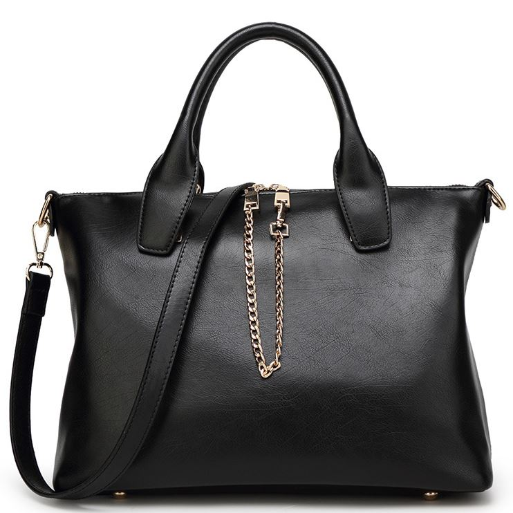 European Style Solid Women Bag Set