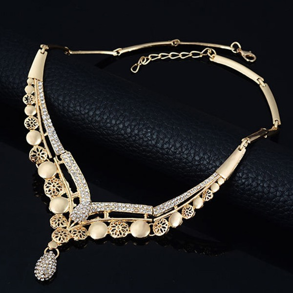 Hollow 4 Pieces Jewelry Set for Women