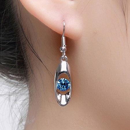 Korean Style Alloy Jewelry Set with Rhinestone
