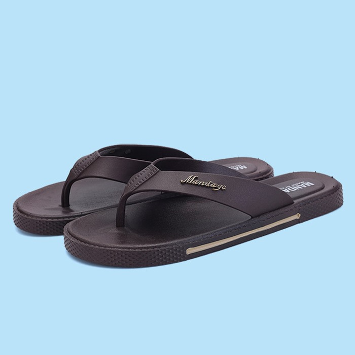PU Thong Men's Flip-Flops