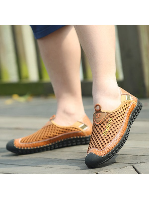 Breathable Mesh Thread Casual Shoes