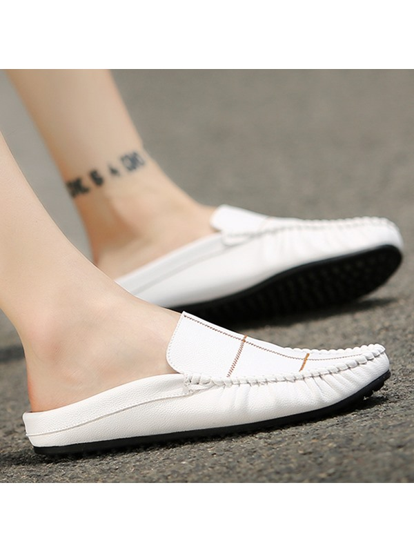 Thread Slip-On Casual Shoes for Men
