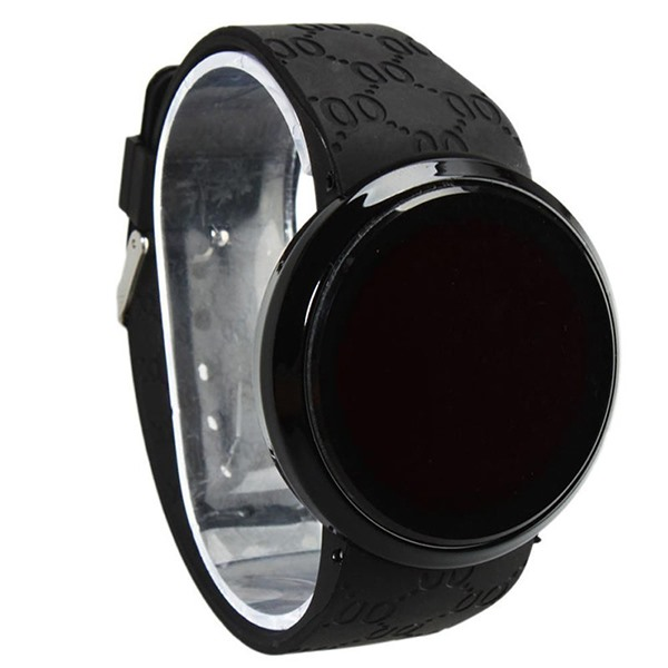 Circle Touch Screen LED Electronic Watch