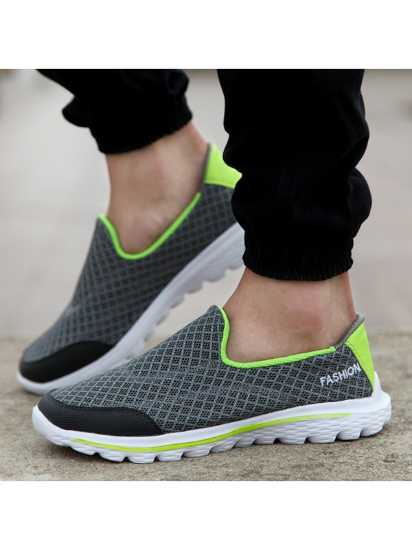 Breathable Mesh Thread Casual Shoes for Men