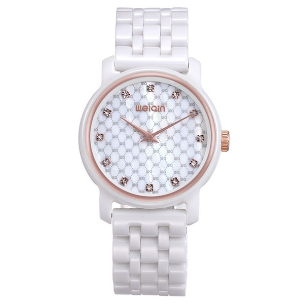 High Quality Ceramic Band Women's Quartz Watch