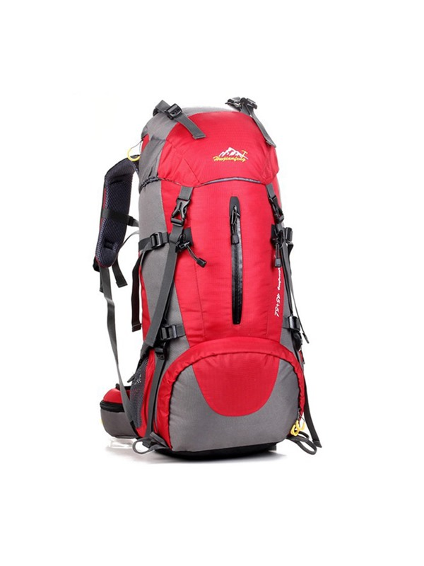 Rain-Proof Pure Color Roomy Hiking Daypack