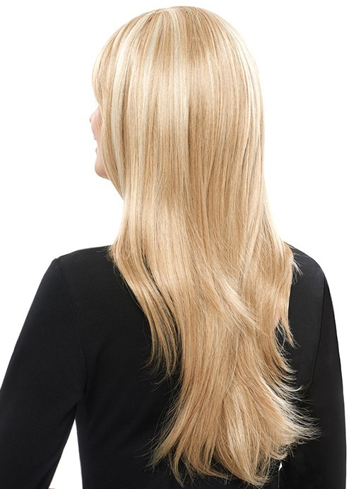 COSCOSS® Straight Capless Blonde Synthetic Hair Wig(Free Shipping)