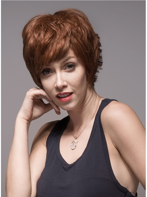 Mishair® Layered Short Charming Human Hair Capless Wig(Free Shipping)