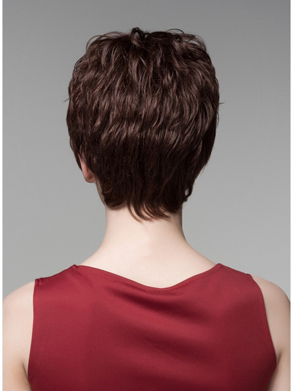 Mishair® Short Wavy Human Hair Capless Wig 6 Inches(Free Shipping)