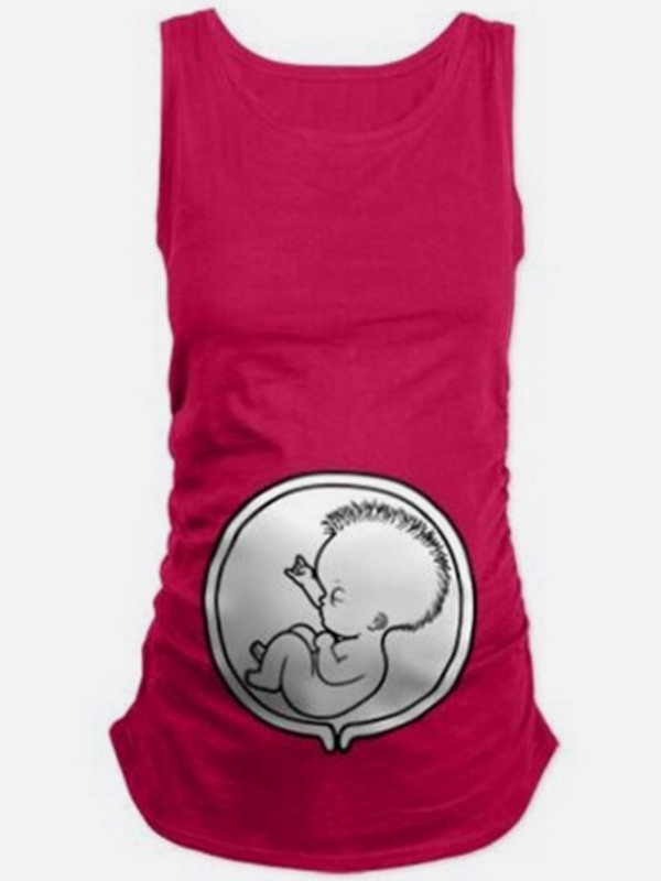 Womb Potato Plain Maternity Tank Top