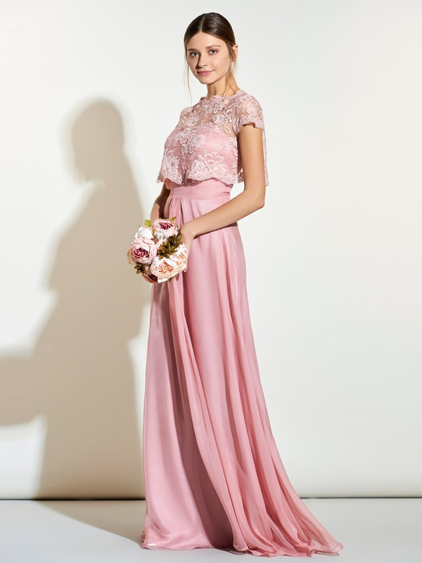 Beautiful Sweetheart Long Bridesmaid Dress With Lace Jacket