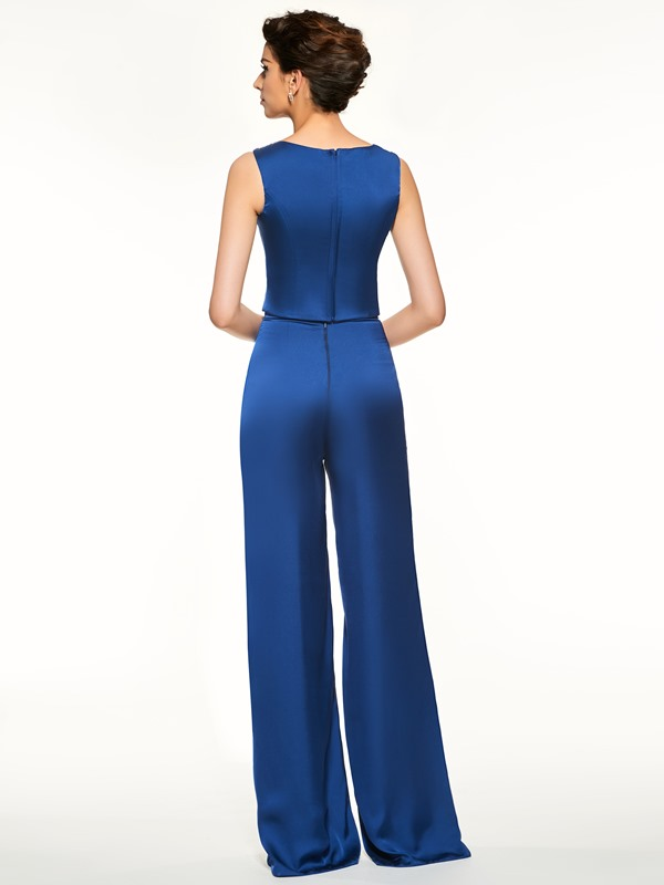 Beading 3 Pieces Mother of the Bride Pantsuits with Jacket