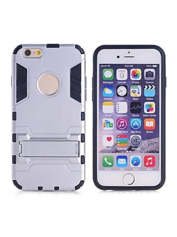 For iPhone 6/6S/6 Plus/6S Plusron Man Combo Bracket TPU+PC Phone Case