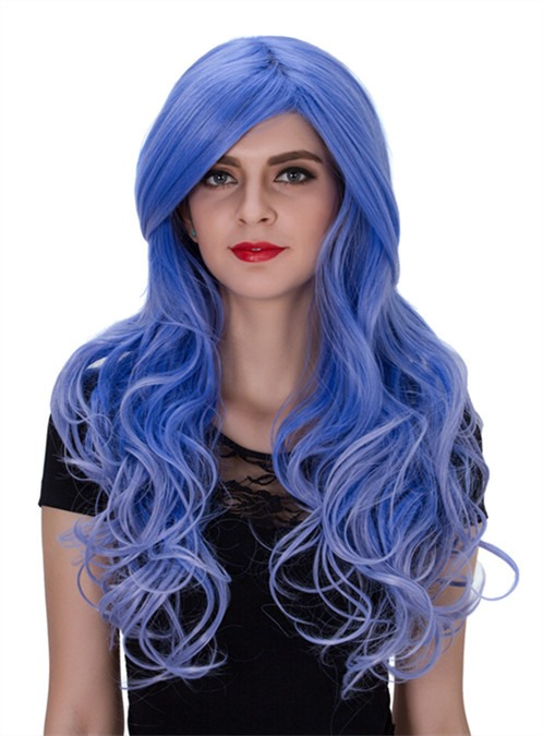 Cosplay Long Wavy Synthetic Hair Capless Wig 26 Inches(Free Shipping)