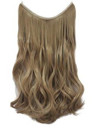 Light Honey Blonde Human Hair Flip In Hair Extension(Free Shipping)