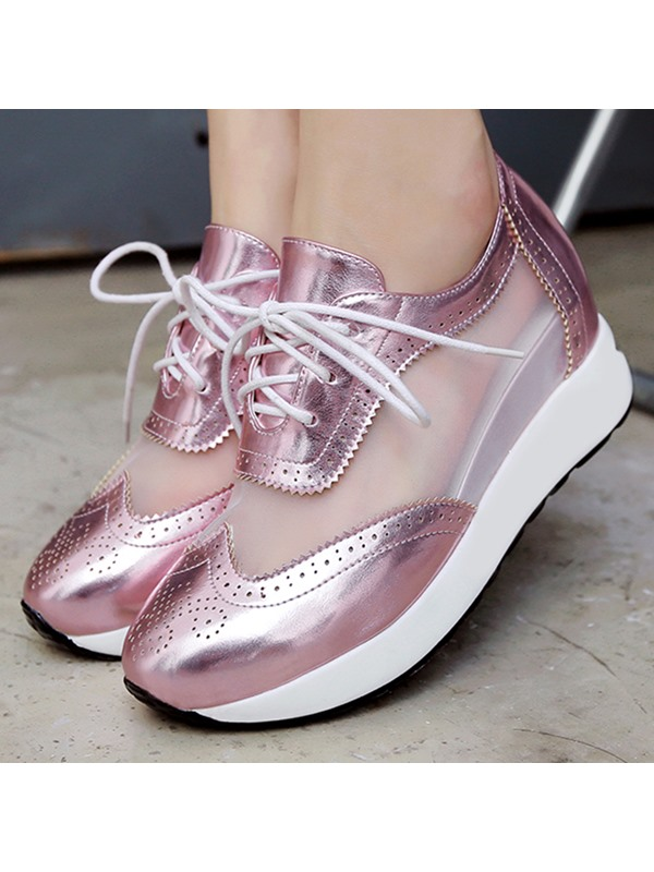 Hollow See-Through Hidden Elevator HEEL Casual