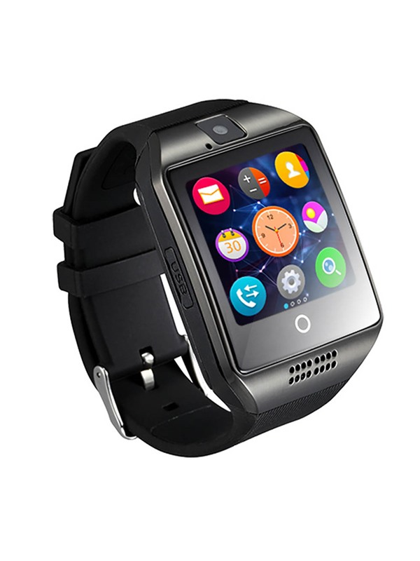 New Fashion Q18 Smart Watch Android Smartwatch Phone Sleep Monitor with SIM Card Slot/Camera