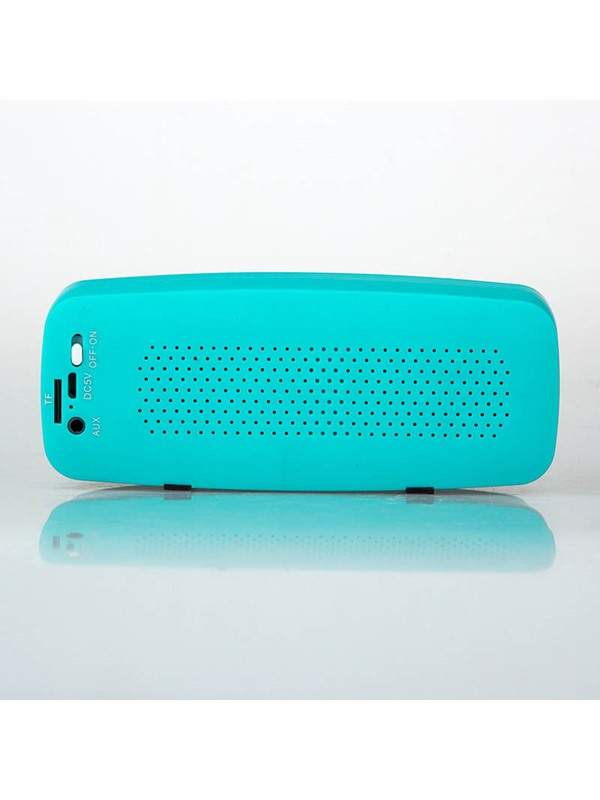 Perfect sound quality dual speakers large diaphragm Mini Bluetooth speaker radio subwoofer