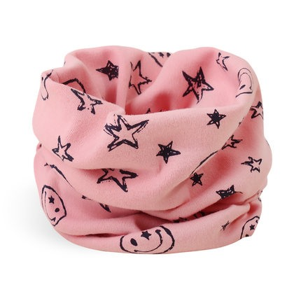 Sweet Printing Cotton Kid's Scarf