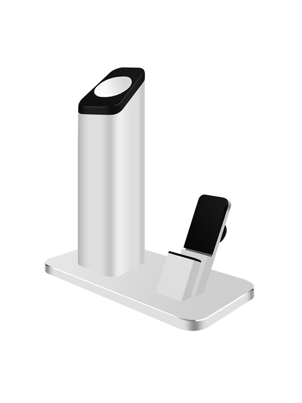 Aluminum Station Mount Charging Charger Dock Base Stander Holder for IPhone Apple Watch