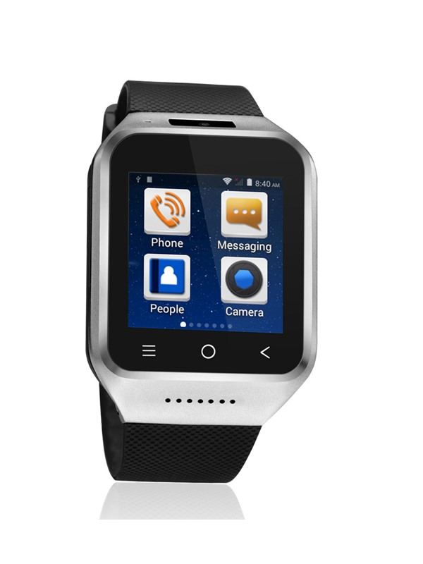 S8 Android Smartwatch Phone 3G Network Support SIM-card/Wifi/Camera/GPS(Free Shipping)