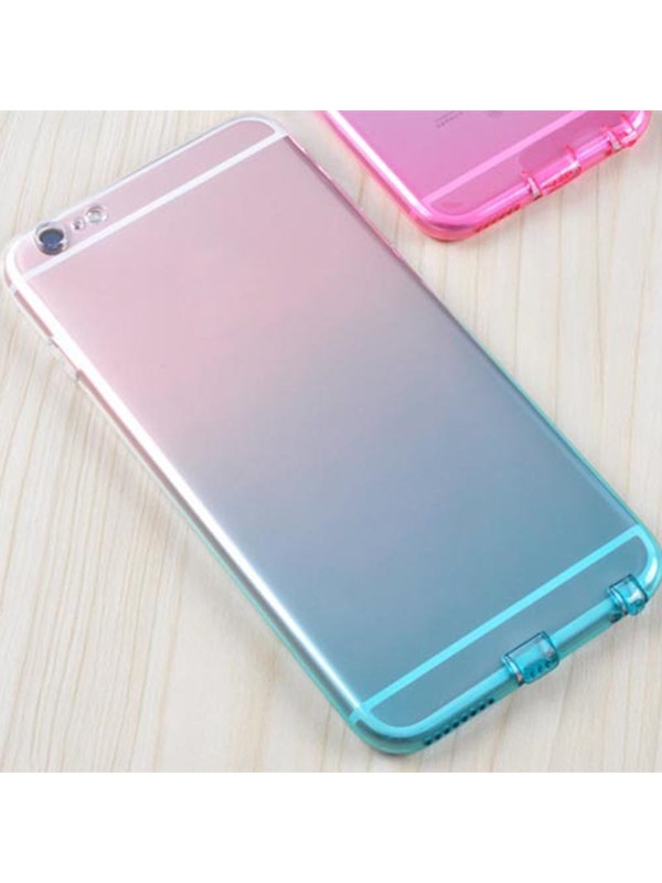 TPU Colorful Waterproof Dirt-Resistant Phone Back Cover for iPhone 6/6S